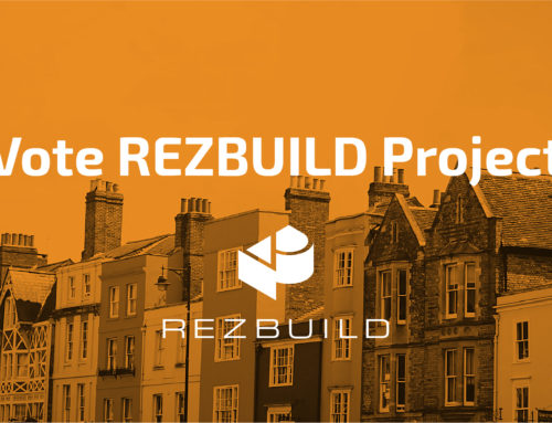 REZBUILD website, nominated in the .eu Web Awards