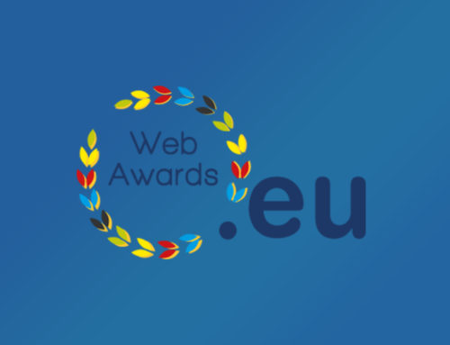 REZBUILD website, officialy nominated in the .eu Web Awards