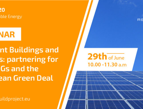 REZBUILD Project organizes a webinar to offer a new perspective on how green buildings contribute to  European sustainability targets